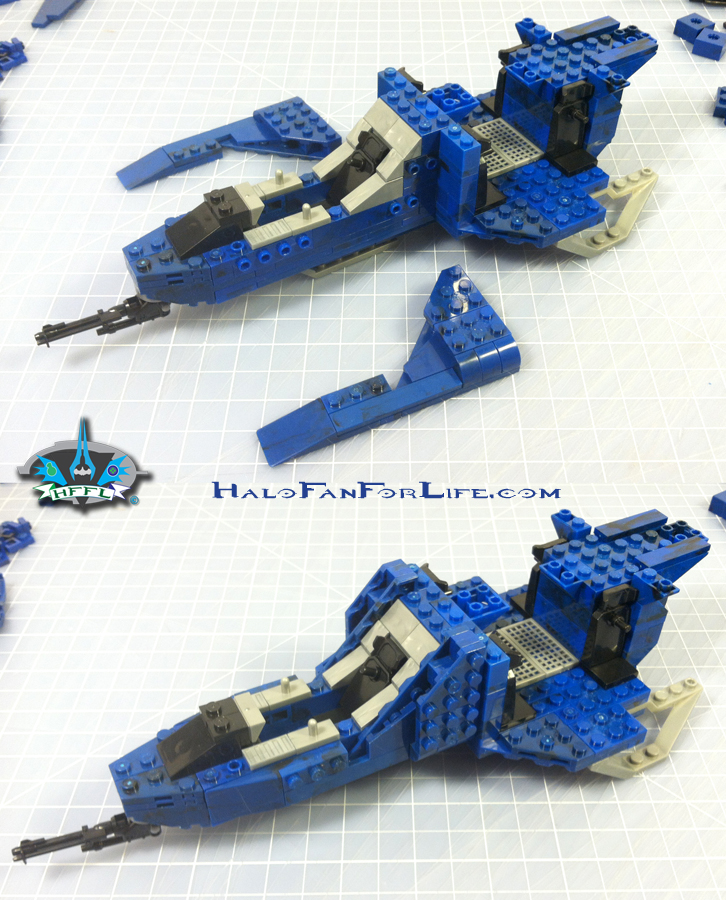 MB Blue Series Falcon 4th step side panels