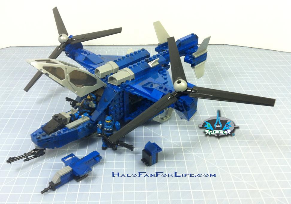 MB Blue Series Falcon complete set