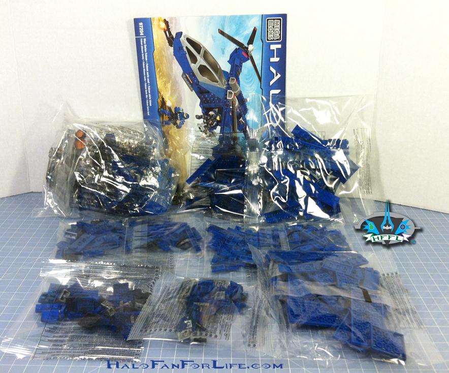 MB Blue Series Falcon contents
