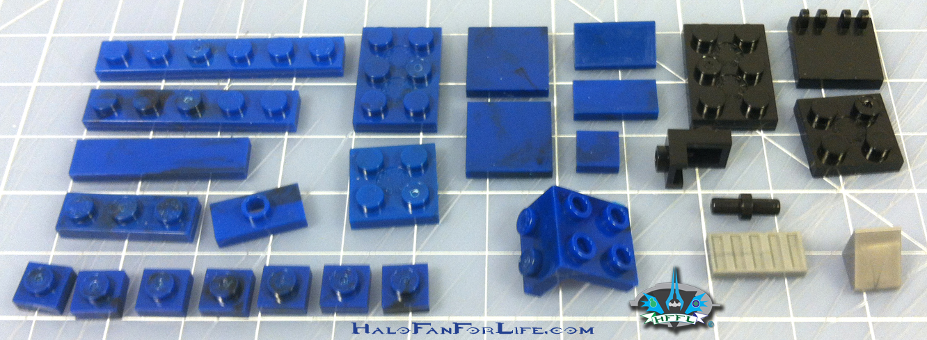MB Blue Series Falcon leftovers