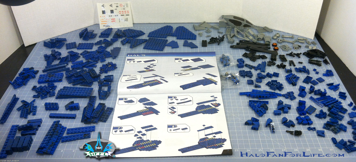 MB Blue Series Falcon sorted