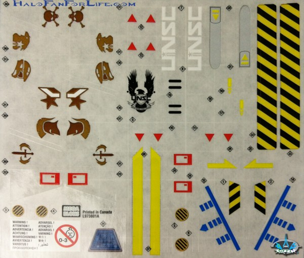 MB Broadsword Sticker Sheet