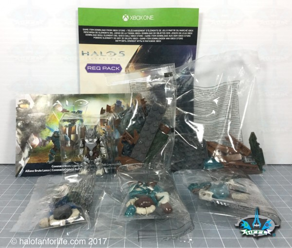 MB Brute Lance Contents