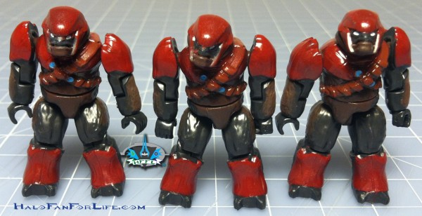 MB Brute Prowler Attck WM minifigs Brutes