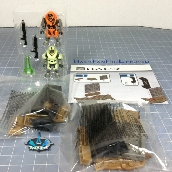 MB Containment Armory contents