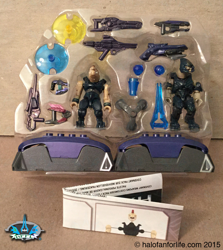 Halo Toy Review: Mega Bloks Covenant Weapons Customizer Pack