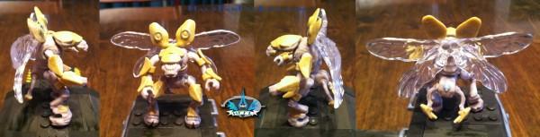 Custom painted Halo Mega Bloks Drone figure   HaloFanForLife