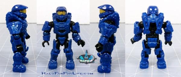 MB Falcon Blue Mark VI minifig