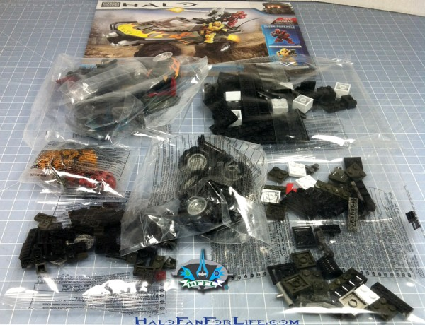 MB Flame Warthog contents