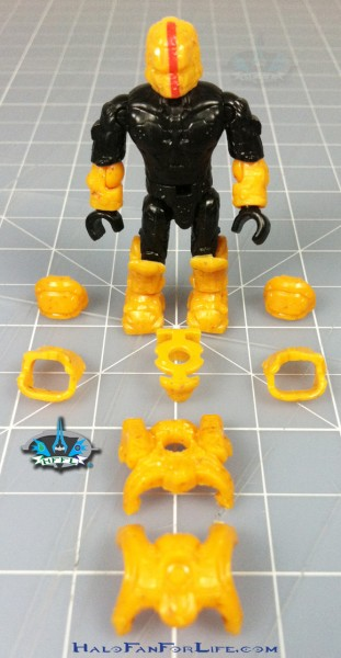 MB Flame Warthog figure armor off