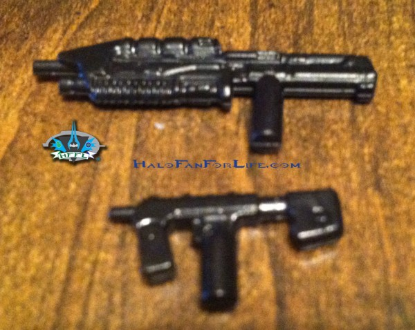 MB Flood Hunter Falcon weapons