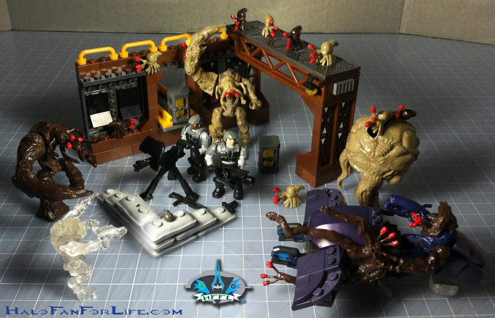 Halo Toy Review: Mega Bloks Flood Invasion | HaloFanForLife