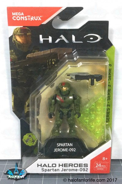 MB Halo Heroes S3 Jerome-092 PCS 24
