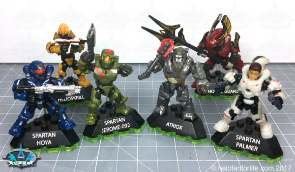 MB Halo Heroes S3 SET 1