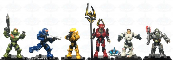 MB Halo Heroes S3 poses