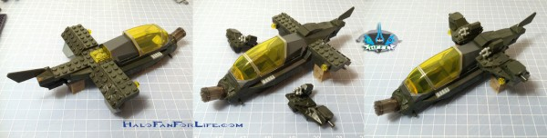 MB Hornet Vs Vampire 3rd steps Wings