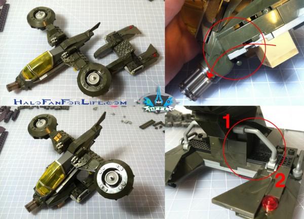 MB Hornet Vs Vampire Body-Skid assembly