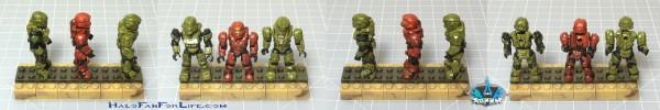 MB Hornet Vs Vampire Minifig Spartans