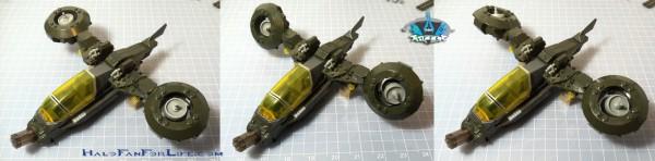 MB Hornet Vs Vampire Turbine rotation