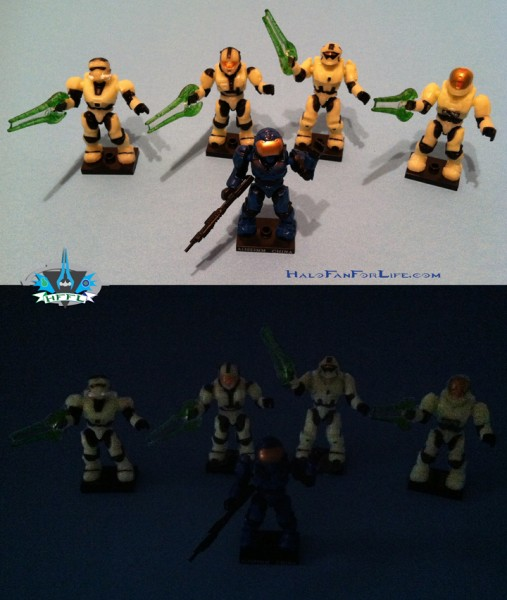 MB Last Man Standing Zombie Pack figures