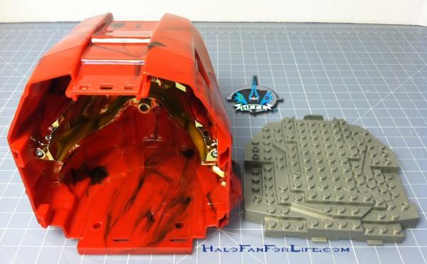 MB Micro Fleet Hornet helmet inside