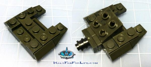 MB Micro Fleet Hornet skid steps