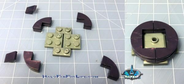 MB Micro Fleet Hornet tower custom steps