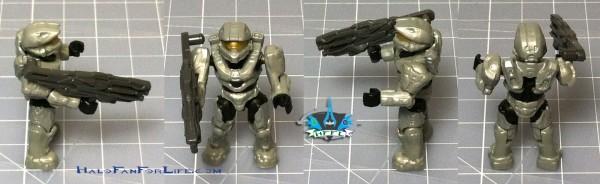 MB Micro Fleet Mantis Invasion Ortho minifig