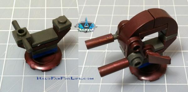 MB Micro Fleet Mantis Invasion Shade turret
