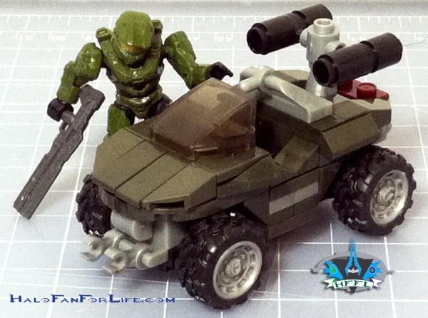 MB Micro-Fleet Warthog Attack Shrunken Hog
