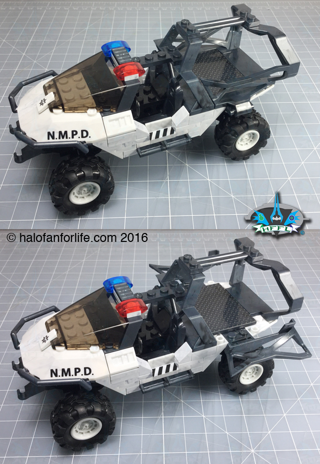 MB NMPD Warthog Hog troop bars