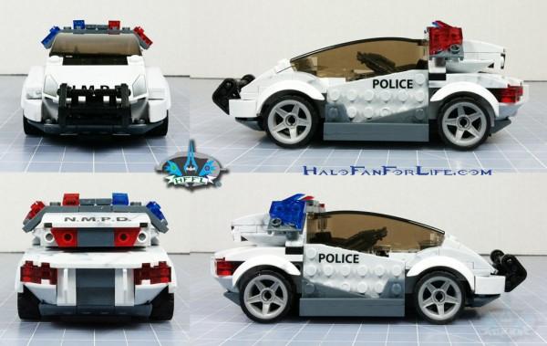 MB Police Cruiser ortho car