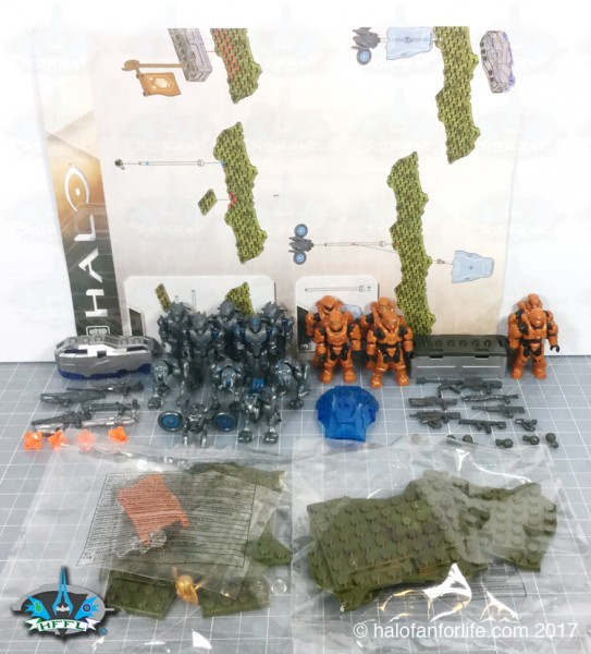 MB Promethean Strike contents