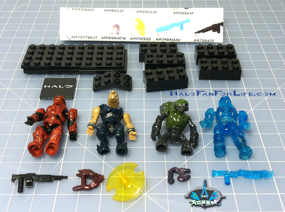 Halo Toy Review: Mega Bloks Spartan IV Battle Pack