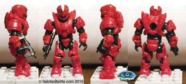 MB Scorpion Sting Minifig Spartan