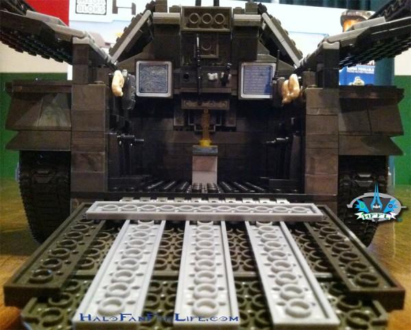 MB Troop Elephant 13th steps back hatch open
