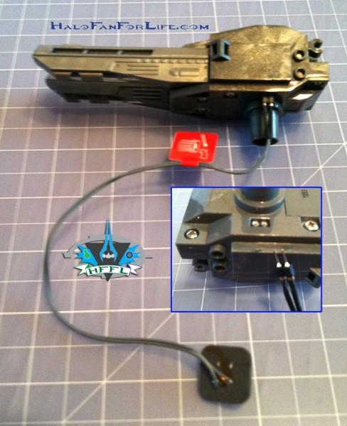 MB UNSC AntiArmorCobra Gun-Battery assembly