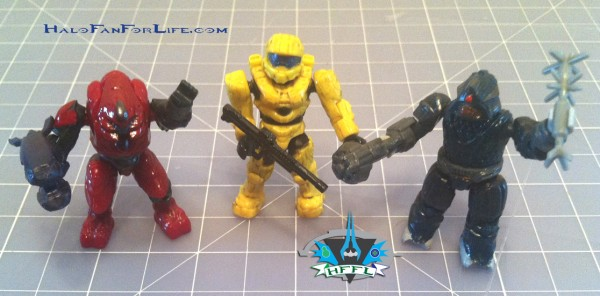 MB UNSC AntiArmorCobra Minifigs w-weapons