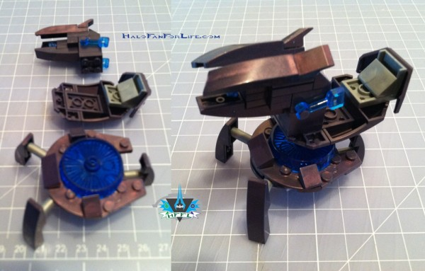 MB UNSC AntiArmorCobra SHADE turret assembly