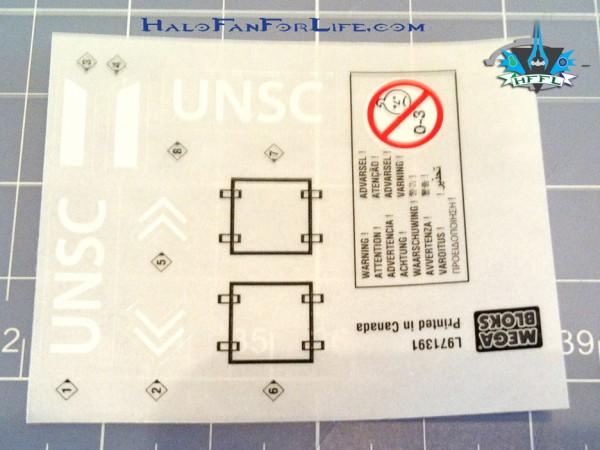 MB UNSC AntiArmorCobra Sticker sheet