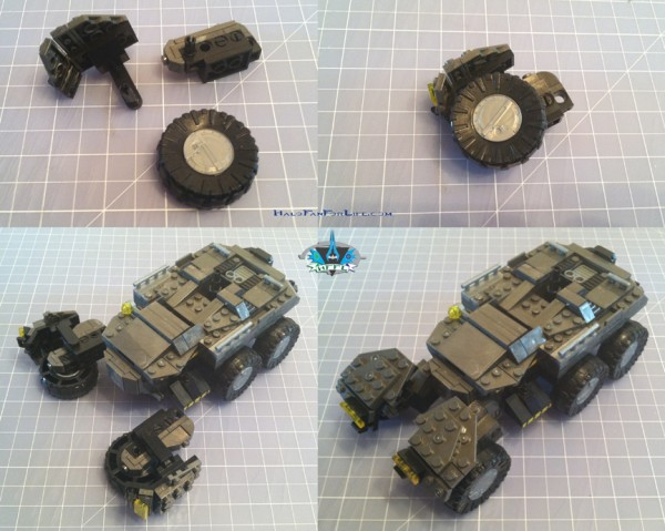 MB UNSC AntiArmorCobra front axle