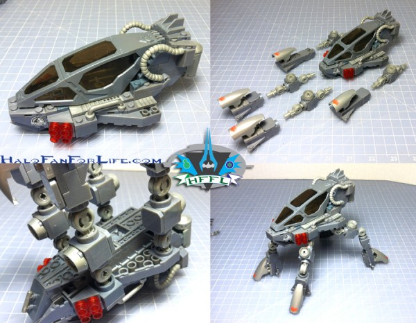 MB UNSC Quad Walker 2nd steps LEGS