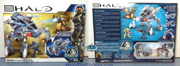 MB UNSC Quad Walker BOX