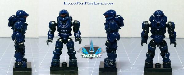 MB UNSC Quad Walker Spartan minifig