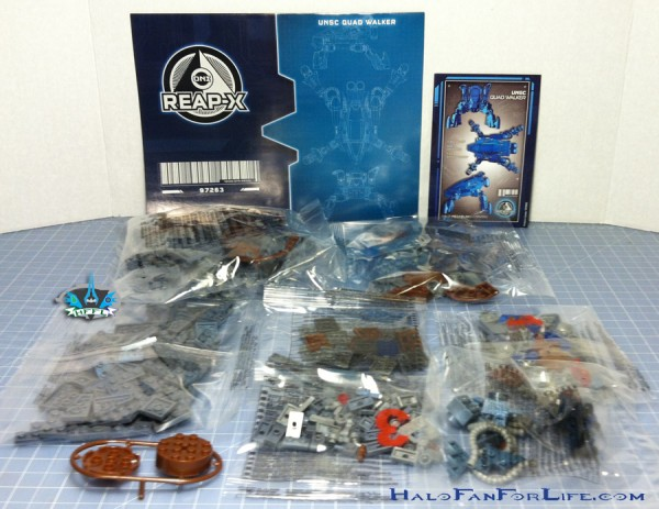MB UNSC Quad Walker contents