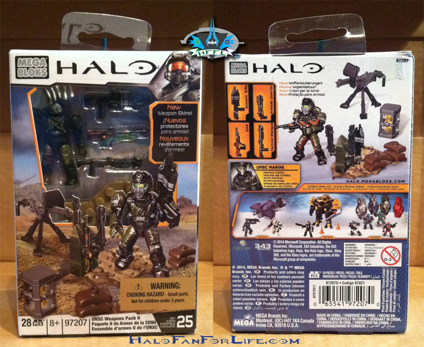 MB UNSC weapons pack II BOX