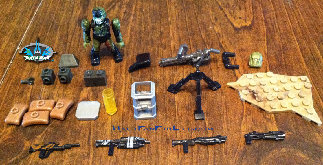 MB UNSC weapons pack II contents