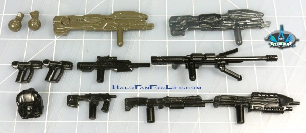MB Ultimate Collector Pack UNSC Weapons