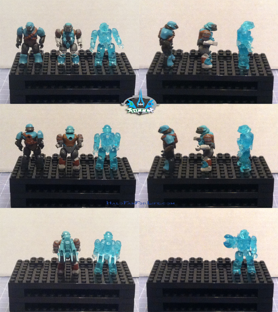 MB Ultimate Combat Pack minifigs Brutes