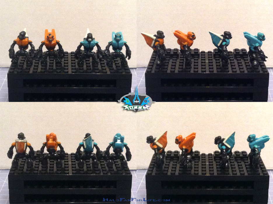 MB Ultimate Combat Pack minifigs Grunts